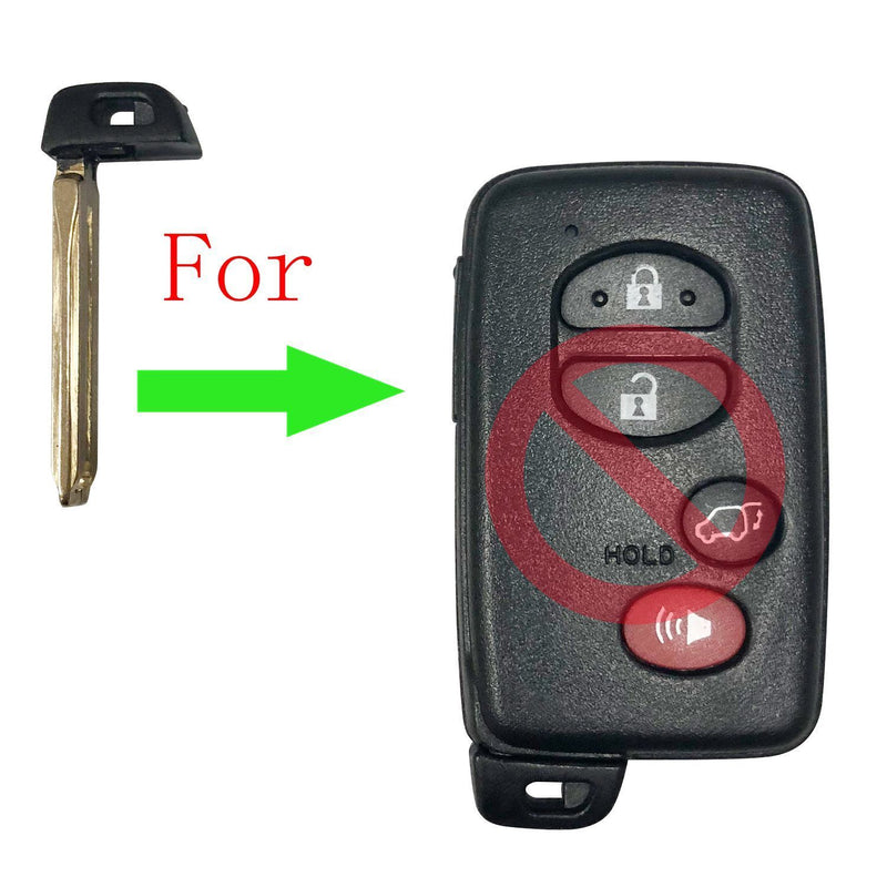 Emergency Key Blade Blank FOR TOYOTA HYQ14FBA SKU: CK-T04