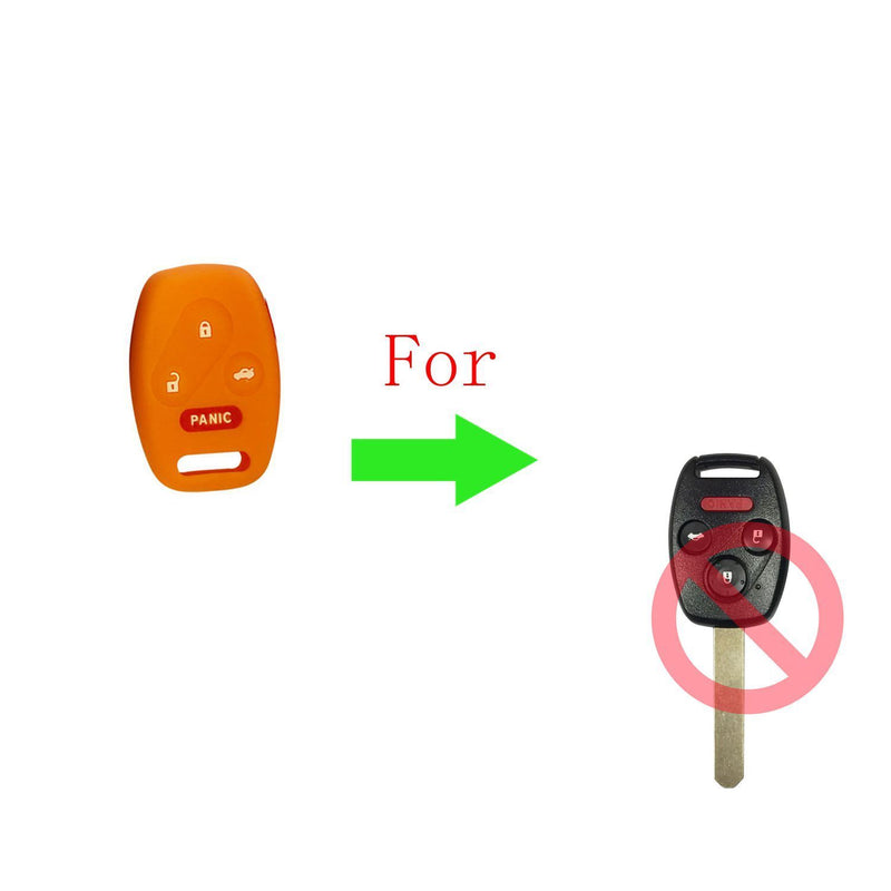 Silicone remote key cover Skin protector For Honda Accord Civic and Pilot