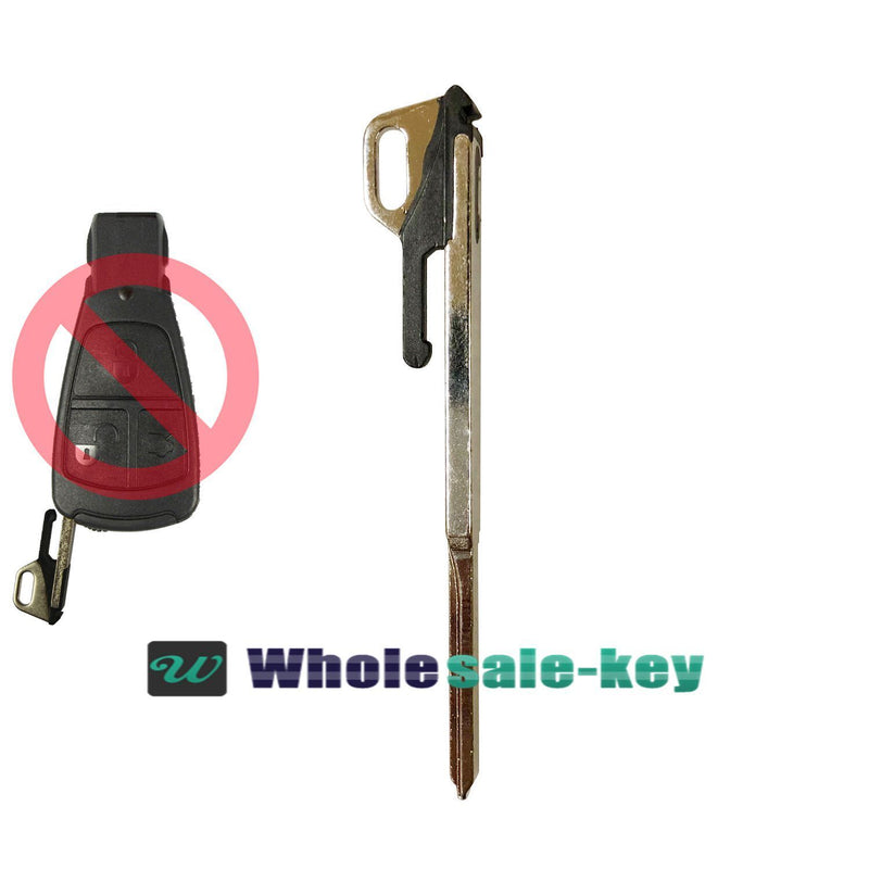 NEW UNCUT REPLACEMENT EMERGENCY KEY INSERT KEY BLADE For Mercedes IYZ3302