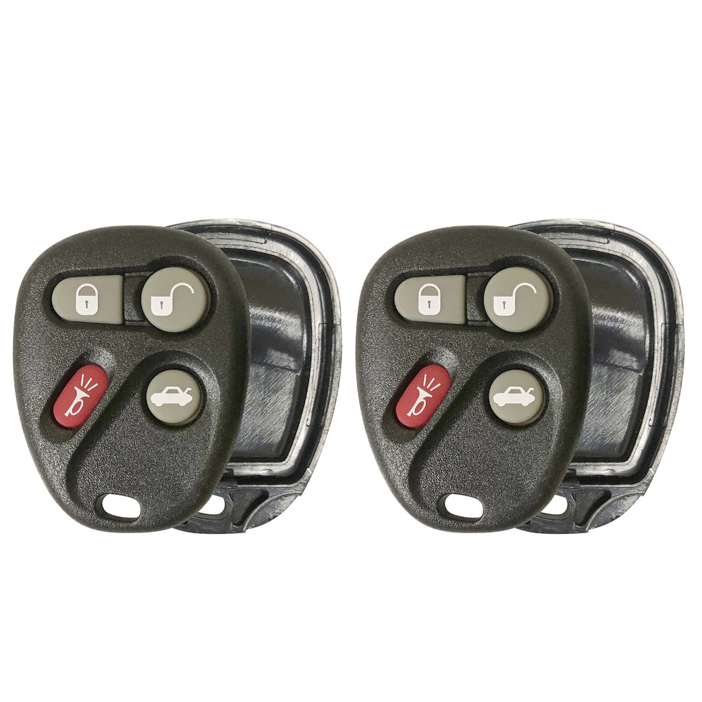 2xNew Keyless Entry Remote Control Key Fob Clicker Shell Case For Chevrolet 4btn
