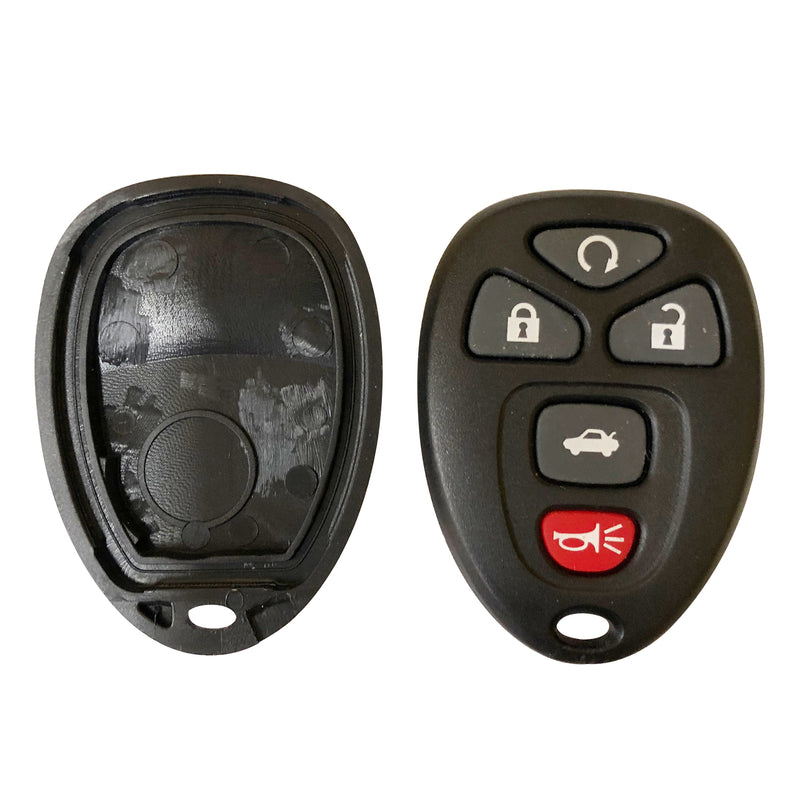 Replacement Keyless Entry Remote Car Key Fob Shell Case For GM Pontiac Chevrolet