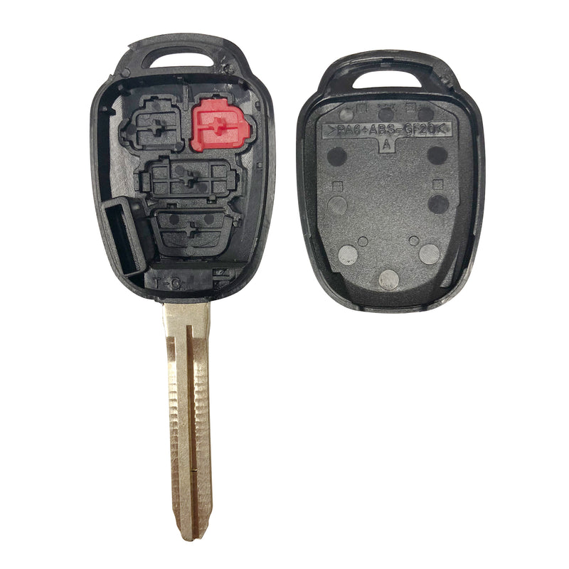 2 New 2012 2013 2014 2015 2016 Toyota Camry Remote Shell Case Car Key Fob Cover