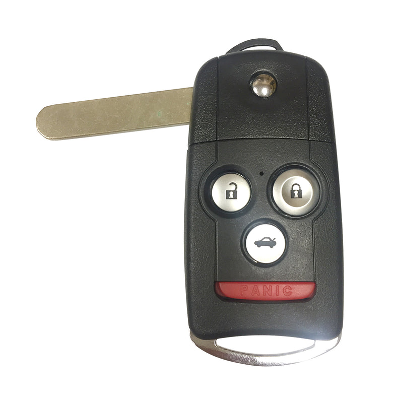 One New Replacement Keyless Entry Remote Flip Car Key Fob Shell Case for Acura