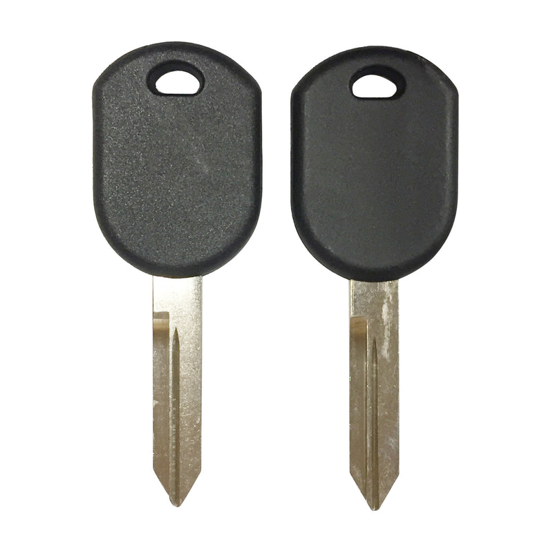 2 New Replacement Uncut Transponder chip Key For Ford Escape Expedition Explore