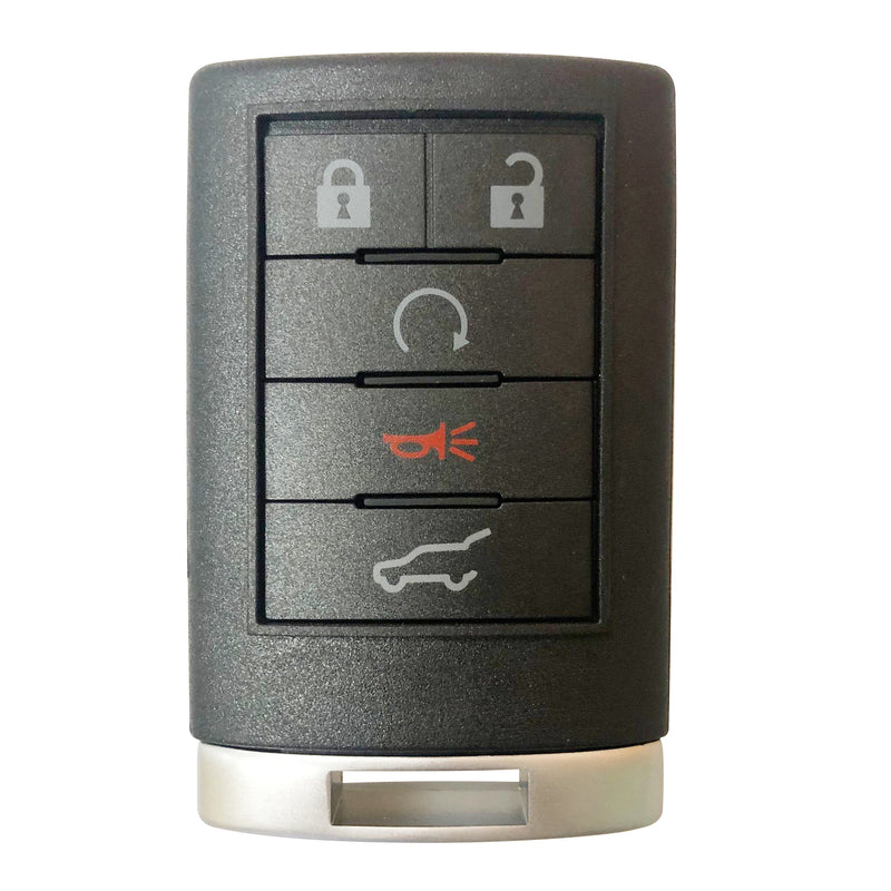 For 2007-2009 Cadillac SRX Keyless Entry Remote OUC6000066 SKU: KR-G5RA