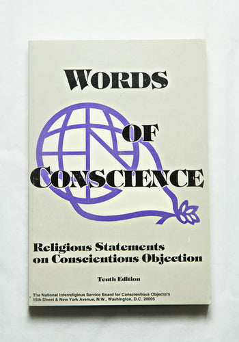 Words of Conscience: Religious Statement on Conscientious Objection