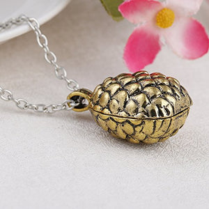 LUREME Inspired by Game of Thrones Daenerys Targaryen Dragon Egg Necklace Pendant