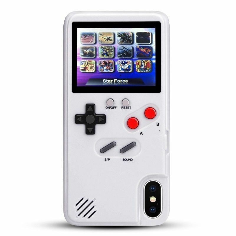 Retro Color Gameboy iPhone Case