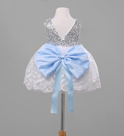 Nancy Big Bow Dress