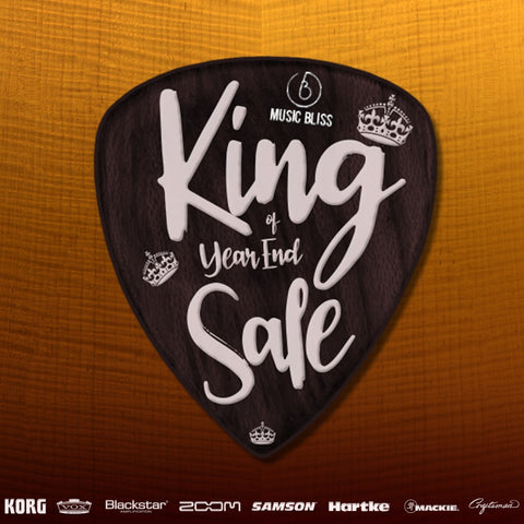 "Music Bliss ""KING OF YEAR END SALES"" is HERE! Offers Up to 25% Off"