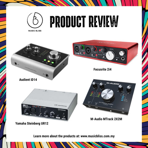 PRODUCT REVIEW : Your Best Pick For Audio Interface– Music