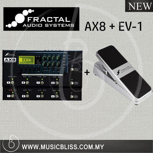 Fractal-Audio-AX8-Amplifier-with-EV-1-Malaysia
