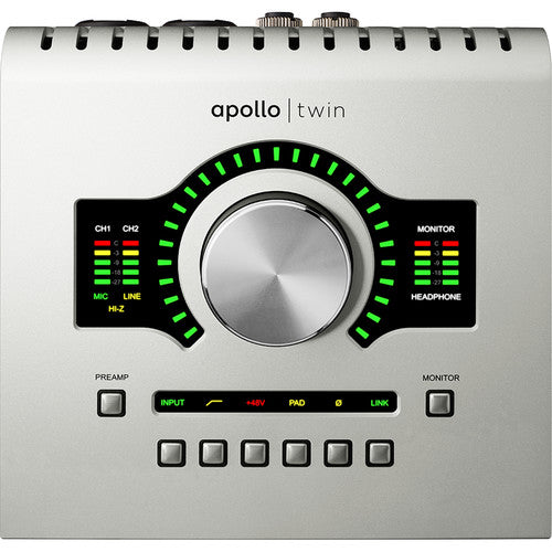 Universal Audio Apollo Twin USB DUO Heritage Edition 10x6 USB Audio Interface with UAD DSP *Crazy Sales Promotion* - Music Bliss Malaysia