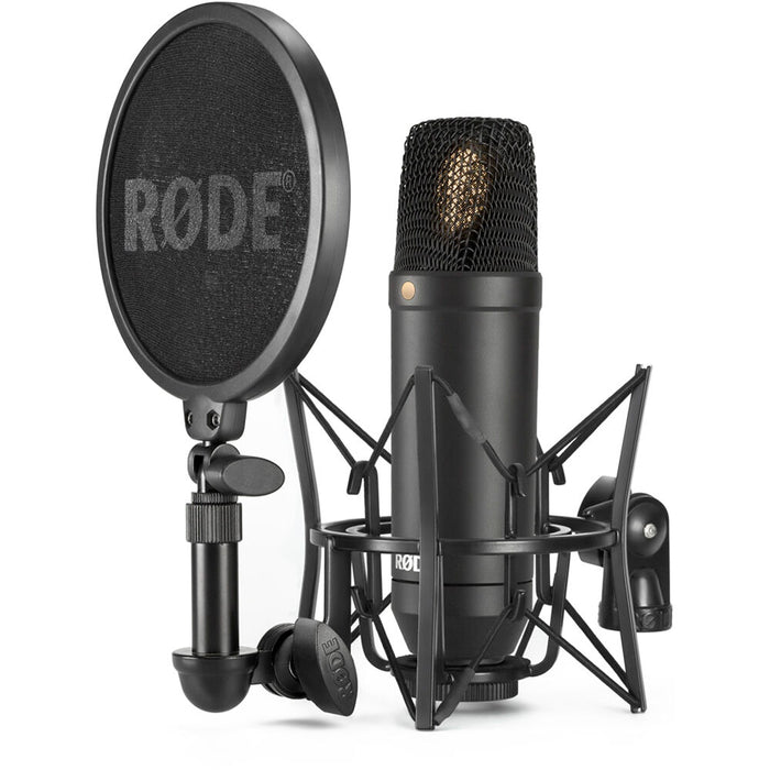 Rode NT1 Kit Low Noise Condenser Microphone (NT-1) 10 Years Warranty [Made in Australia] *Everyday Low Prices Promotion* - Music Bliss Malaysia