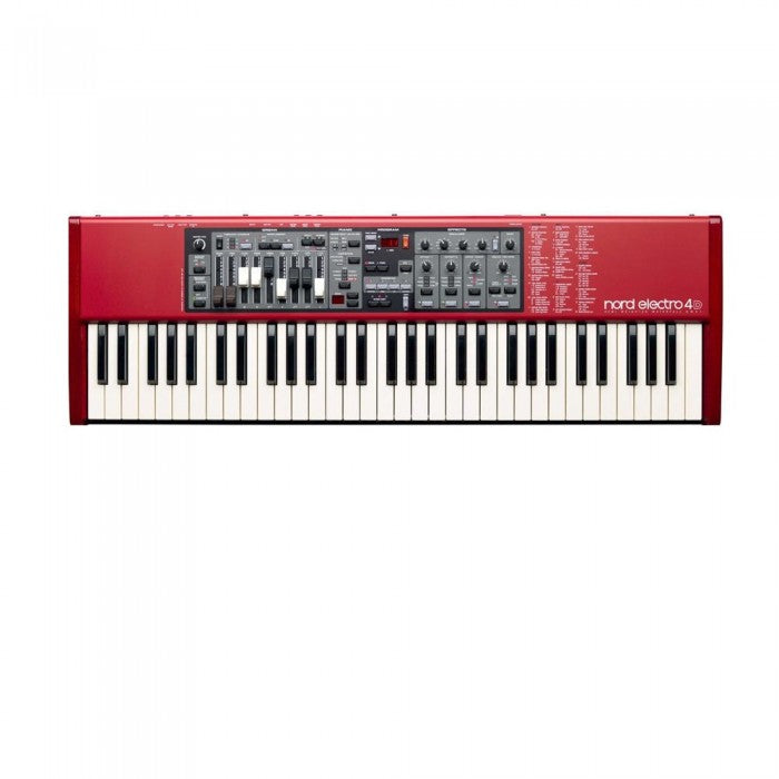 Nord Electro 4D SW61 61-Key Semi Weighted Waterfall Keyboard - Music Bliss Malaysia