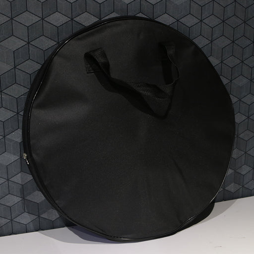 Bullet Groove Cymbal Bag, Cymbal Bag for Cymbal Sets, Hi hat, Crash & Ride Cymbal Bag, Best Budget Durable Cymbal Bag for 14 inch Hi Hat, 16 Inch Crash, 20 Inch Ride Cymbal