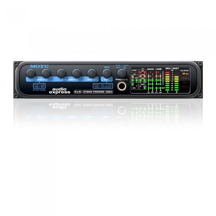 MOTU Audio Express USB / FireWire Audio Interface *Crazy Sales Promotion* - Music Bliss Malaysia