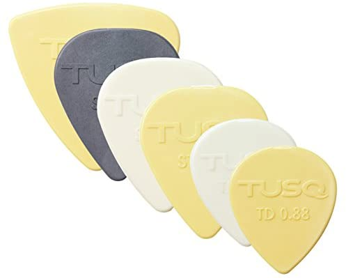 Graph Tech PQP-1000-MP TUSQ Assorted Picks 6-pack - Mixed (PQP1000MP) - Music Bliss Malaysia