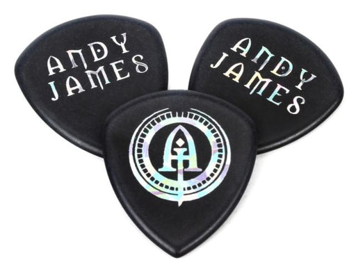 Dunlop 546PAJ2.0 Andy James Flow Jumbo 2.0mm Guitar Picks-3-Pack