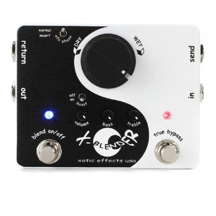 Xotic X-Blender Switchable Series/Parallel Loop Pedal - Music Bliss Malaysia