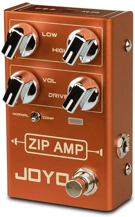 Joyo R-04 ZIP AMP compressor Guitar Effects Pedal With Free Patch Cable (R04)