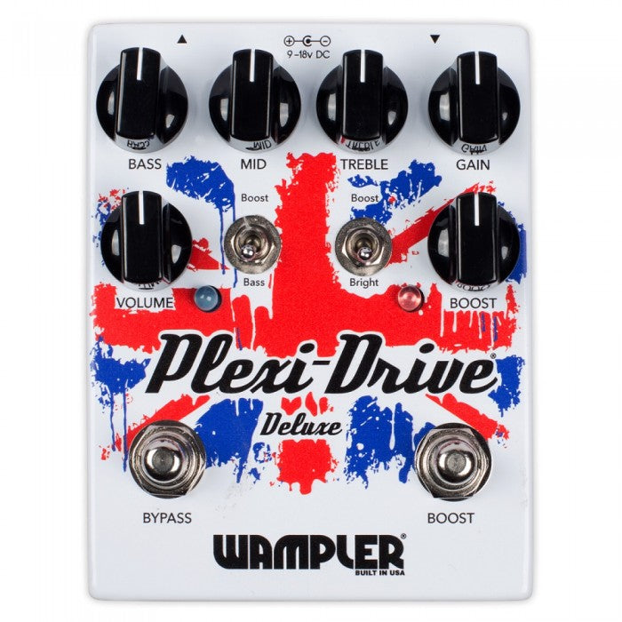 Wampler Plexi-Drive Deluxe Guitar Effects Pedal - Music Bliss Malaysia