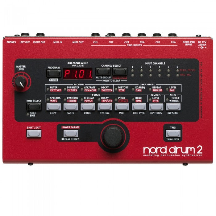 Nord Drum 2 Modeling Percussion Synthesizer - Music Bliss Malaysia