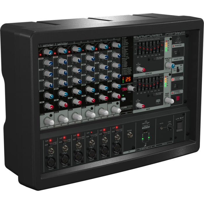 Behringer Mixer PMP-560M Powered Mixer - Music Bliss Malaysia