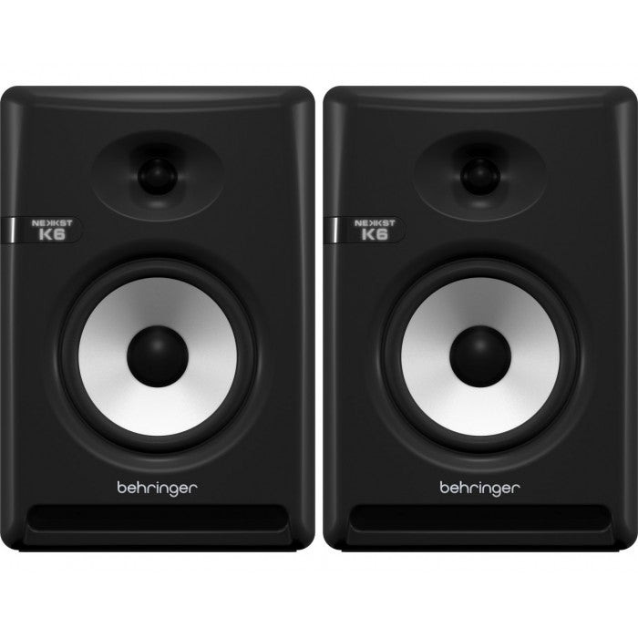 Behringer Nekkst K6 6.5inch Powered Studio Monitor - Pair (K-6) - Music Bliss Malaysia