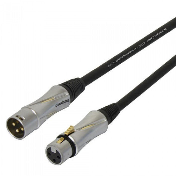 Bespeco PT600FM Assembled Microphone Cable (PT-600FM) *Crazy Sales Promotion* - Music Bliss Malaysia