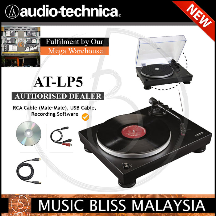 Audio Technica AT-LP5 Direct-Drive Turntable (ATLP5)
