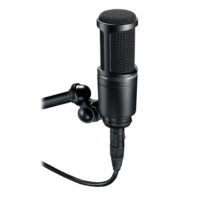 Audio-Technica AT2020 Cardioid Condenser Microphone with Pop Filter (AT-2020)
