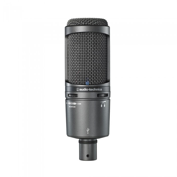 Audio Technica AT2020USB+ Cardioid Condenser USB Microphone with Pop Filter (AT2020-USB+)