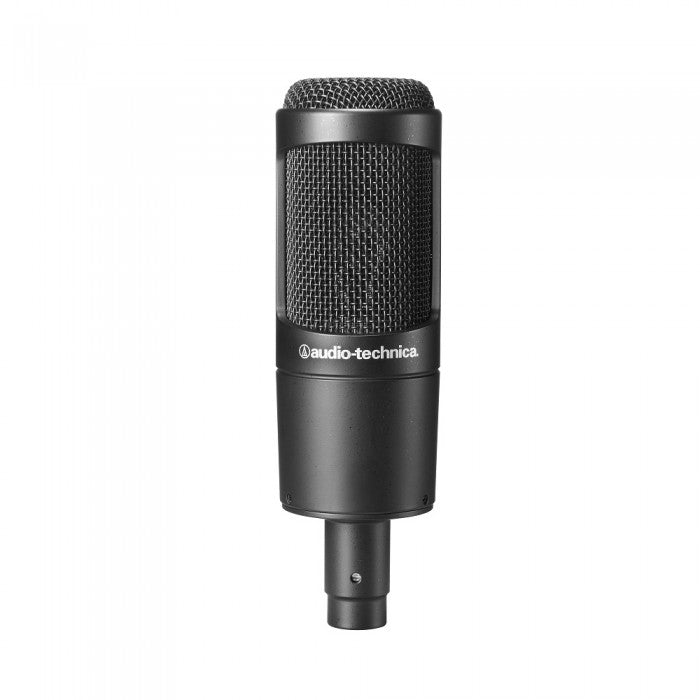 Audio-Technica AT2035 Cardioid Condenser Microphone with Pop Filter & Condenser Mic Holder (AT-2035)
