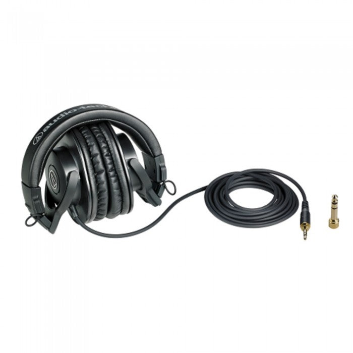 Audio Technica ATH-M30x Professional Monitor Headphone (M30x) *Crazy Sales Promotion* - Music Bliss Malaysia