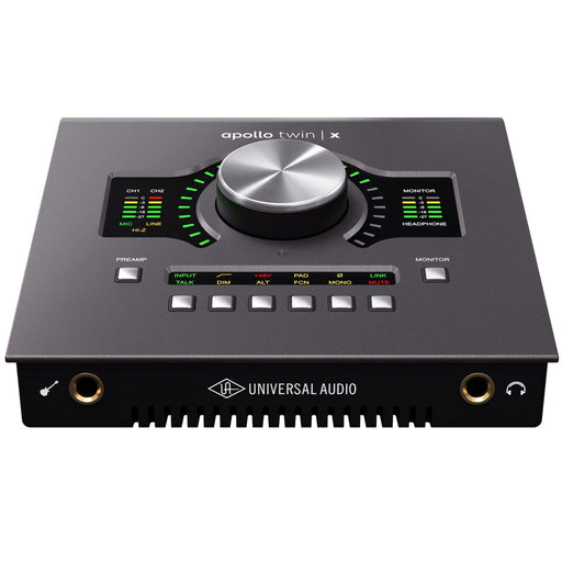 Universal Audio Apollo Twin X DUO Heritage Edition 10x6 Thunderbolt Audio Interface with UAD DSP *Crazy Sales Promotion* - Music Bliss Malaysia