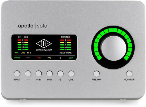 Universal Audio Apollo Solo Heritage Edition Thunderbolt 3 Audio Interface with UAD DSP *Crazy Sales Promotion* - Music Bliss Malaysia