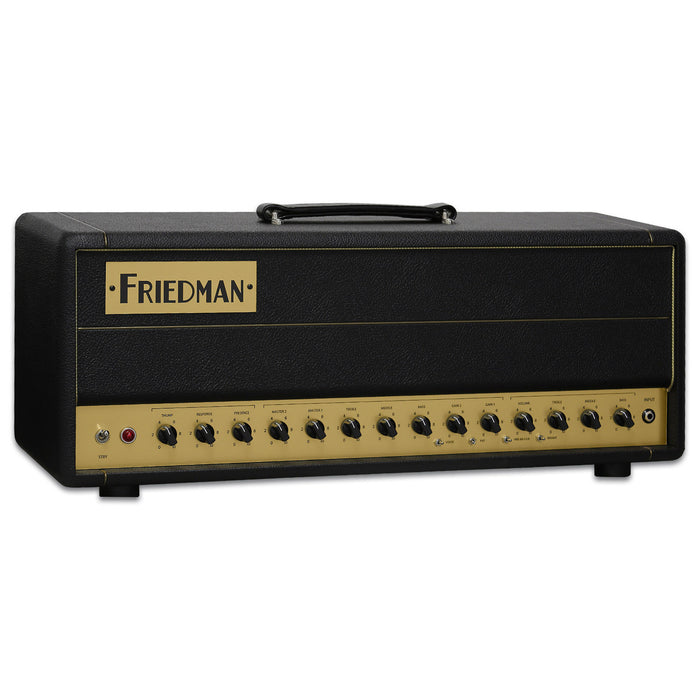 Friedman BE-50 Deluxe 3-channel 50-watt Tube Head - Music Bliss Malaysia