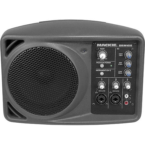 B-Stock Mackie SRM150 150-Watt Active PA Speaker with 3-channel Mixer (SRM-150) - Music Bliss Malaysia