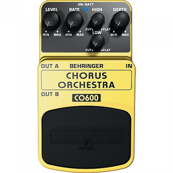 Behringer CO-600 Chorus Orchestra Guitar Effects Pedal (CO600)
