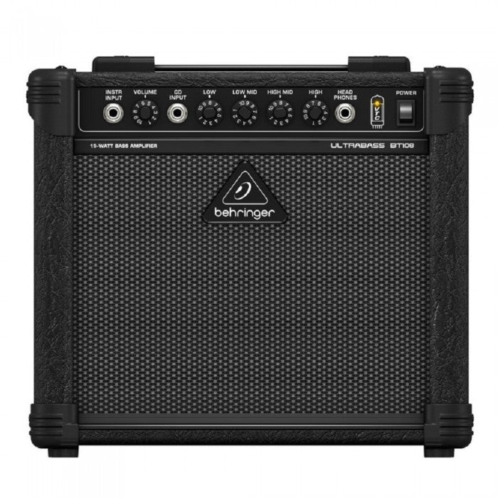 Behringer Ultrabass BT-108 15-Watt 1x8 Bass Combo Amplifier (BT108) - Music Bliss Malaysia
