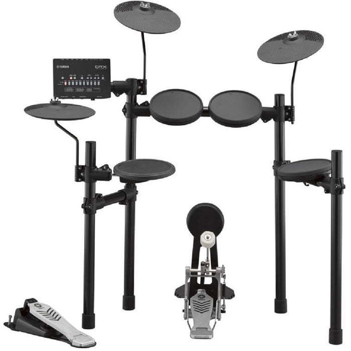 Yamaha Digital Drum DTX452K Electronic Drum Set with Headphone, Stool and Drumsticks (DTX-452K / DTX 452K) *Crazy Sales Promotion* - Music Bliss Malaysia