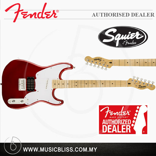 Fender Squier Vintage Modified 51 6-String Electric Guitar, Maple Fingerboard (Candy Apple Red)