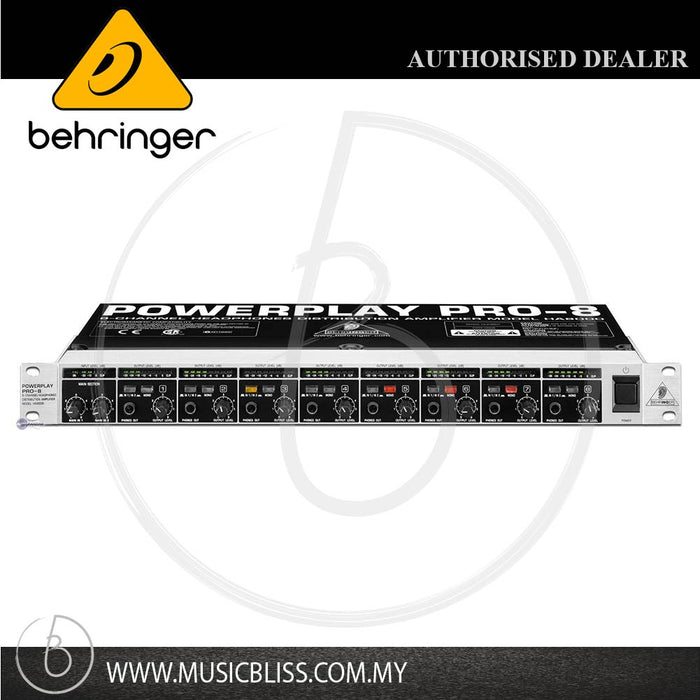 Behringer Powerplay HA8000 Headphone Amplifier (HA-8000) - Music Bliss Malaysia