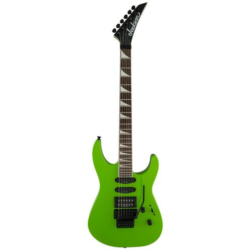 Jackson X Series Soloist SL3X Electric Guitar, 24 Fret Rosewood FB w/Floating Tremolo, Slime Green