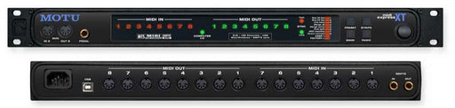 MOTU MIDI Express XT USB 8-In/8-Out USB MIDI Interface with SMPTE and MMC *Crazy Sales Promotion*