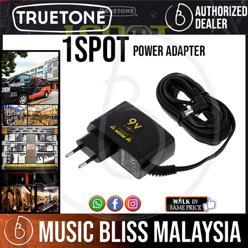 Truetone 1 SPOT 9V Power Adapter - Music Bliss Malaysia