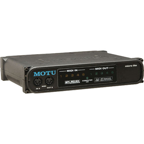 MOTU Micro Lite 5056 5x5 Expandable USB MIDI Interface