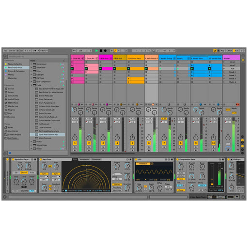 Ableton Live 10 Suite Edition, Upgrade From Live 1-9 Standard (Electronic Serial Delivery)