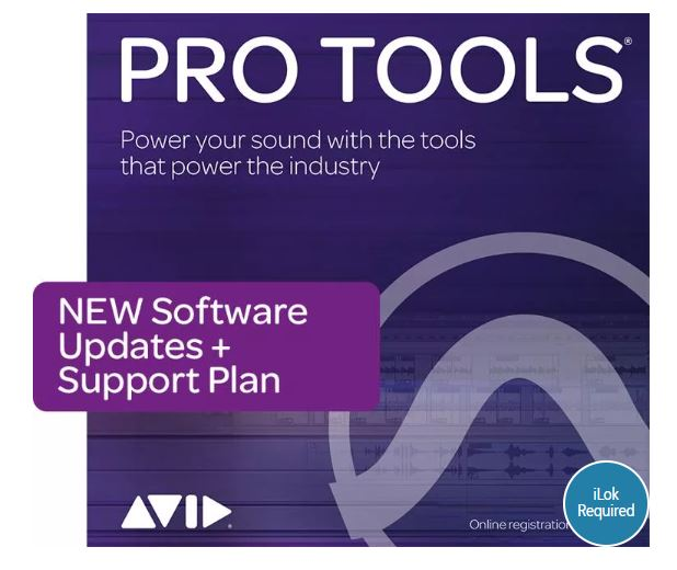 Avid Pro Tools Perpetual License with 1-Year Updates and Support Plan - Download - Music Bliss Malaysia